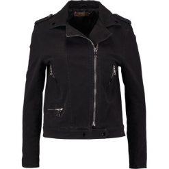 Bomberki damskie: Kaporal YULI Kurtka jeansowa black