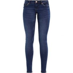 Noisy May NMEVE POCKET PIPING Jeans Skinny Fit dark blue denim. Niebieskie boyfriendy damskie Noisy May. Za 179,00 zł.