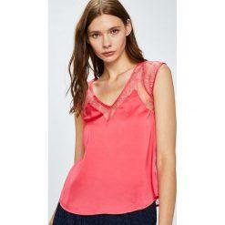 Etam - Top piżamowy Hestia. Niebieskie piżamy damskie marki Etam, l, z bawełny. W wyprzedaży za 79,90 zł.