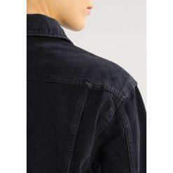Bomberki damskie: Topshop SEAM Kurtka jeansowa washed black