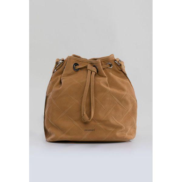 36b4ceb91f7b6 Mała torebka typu worek - Szare torebki klasyczne damskie Monnari ...