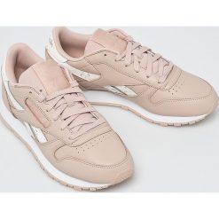 Reebok Classic - Buty Cl Lthr. Szare buty sportowe damskie Reebok Classic, z gumy, reebok classic. W wyprzedaży za 299,90 zł.