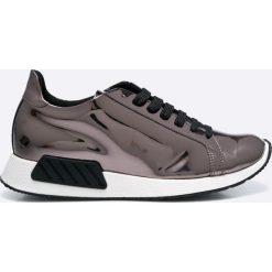Hego's - Buty. Szare buty sportowe damskie marki Hegos, z materiału. W wyprzedaży za 299,90 zł.
