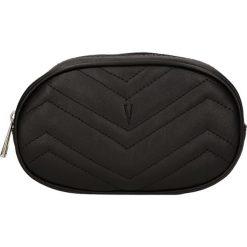 """Torebki klasyczne damskie: Skórzana torebka """"Neuilly"""" w kolorze czarnym na pasek – 18 x 16 x 11 cm"""