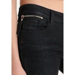 Replay LUZ COIN ZIP PANTS Jeans Skinny Fit blueblack denim. Niebieskie jeansy damskie relaxed fit marki Replay. Za 579,00 zł.