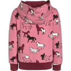 Bluzy chłopięce: Småfolk HORSES Bluza rozpinana mesa rose