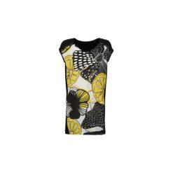 Sukienki krótkie Desigual  POSIMA. Żółte sukienki mini marki Desigual, s, z krótkim rękawem. Za 191,95 zł.