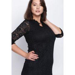 Czarna Sukienka My Type. Czarne sukienki hiszpanki Born2be, midi. Za 54,99 zł.