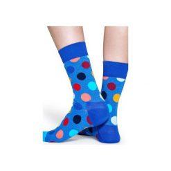 Skarpetki Happy Socks - Big Dot (BDO01-6002). Niebieskie skarpetki męskie Happy Socks, w kolorowe wzory, z bawełny. Za 34,90 zł.