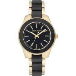 Zegarek Anne Klein Damski Klasyczny AK/3214BKGB Gold and Black. Czarne zegarki damskie Anne Klein. Za 328,99 zł.
