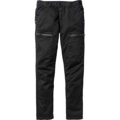 """Bojówki męskie: Spodnie """"bojówki"""" Regular Fit Straight bonprix czarny"""