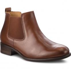 Sztyblety GABOR - 91.640.22 Sattel. Brązowe buty zimowe damskie marki Gabor, z materiału. W wyprzedaży za 379,00 zł.