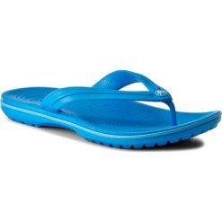 Japonki CROCS - Crocband Flip 11033 Ocean/Electric Blue. Niebieskie japonki damskie marki Crocs, z tworzywa sztucznego. Za 119,00 zł.