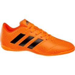 Buciki niemowlęce chłopięce: buty do piłki nożnej adidas Nemezis Tango 18.4 adidas pomarańczowe