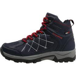 KangaROOS LOOP HIGH Buty trekkingowe blue/fire. Niebieskie buty trekkingowe damskie KangaROOS, z gumy, outdoorowe. W wyprzedaży za 255,20 zł.