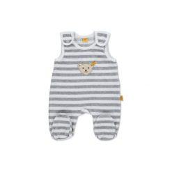 Steiff  Baby Nicki Śpioszki 2-częściowe softgrey - szary. Szare pajacyki niemowlęce Steiff, z bawełny. Za 159,00 zł.