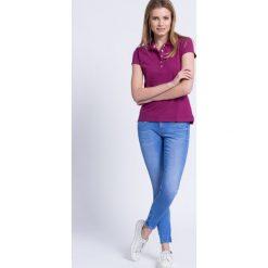 Pepe Jeans - Jeansy Cher. Niebieskie jeansy damskie Pepe Jeans, z bawełny, z obniżonym stanem. W wyprzedaży za 179,90 zł.