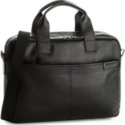 Torba na laptopa STRELLSON - Garret 4010002347 Black 900. Czarne torby na laptopa marki Strellson, ze skóry. Za 1049,00 zł.