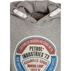 Petrol Industries HOODED  Bluza z kapturem light grey melee. Szare bluzy chłopięce rozpinane marki Petrol Industries, z bawełny, z kapturem. W wyprzedaży za 134,10 zł.