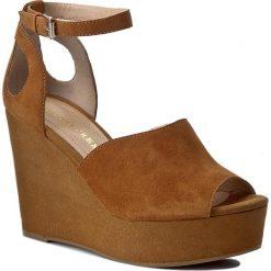Rzymianki damskie: Sandały BRUNO PREMI – Camoscio K5200P  Cuoio