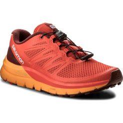 Buty SALOMON - Sense Pro Max 402380 27 W0 Fiery Red/Bright Marigold/Syrah. Czerwone buty do biegania męskie marki Salomon, z materiału. W wyprzedaży za 419,00 zł.