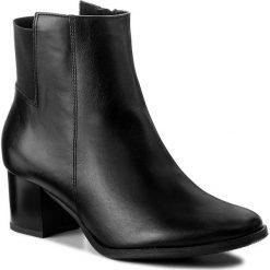 Botki KABAŁA - 240-497-527-1-00-01-01 Czarny. Czarne botki damskie skórzane marki Kabała. W wyprzedaży za 269,00 zł.