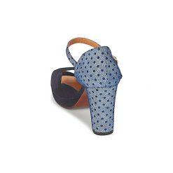Sandały Chie Mihara  NADILA. Niebieskie sandały trekkingowe damskie Chie Mihara. Za 927,20 zł.