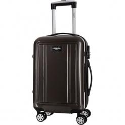Walizka w kolorze szarym - 27 l. Szare walizki Bagstone & Travel One, z materiału. W wyprzedaży za 199,95 zł.