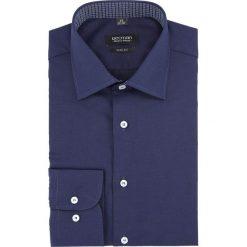 Koszula bexley 2794 długi rękaw slim fit granatowy. Niebieskie koszule męskie slim Recman, m, z długim rękawem. Za 139,00 zł.