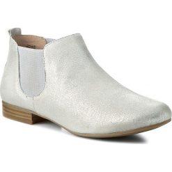 Sztyblety CAPRICE - 9-25301-26 Silver 941. Szare buty zimowe damskie Caprice, z materiału, na obcasie. W wyprzedaży za 169,90 zł.