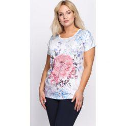 Biała Bluzka Flashy Pink. Białe bluzki damskie marki Born2be, l. Za 39,99 zł.