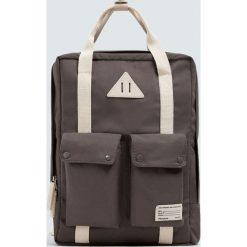 Plecaki damskie: Szary plecak school