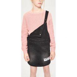Sweter o grubym splocie - Beżowy. Brązowe swetry dziewczęce marki Reserved, ze splotem. W wyprzedaży za 29,99 zł.