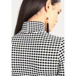 Sukienki: Missguided PRINTED HIGH NECK LONG SLEEVE DRESS Sukienka dzianinowa black