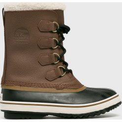 Sorel - Buty Pac T. Szare buty trekkingowe męskie Sorel, z materiału, outdoorowe. Za 569,90 zł.