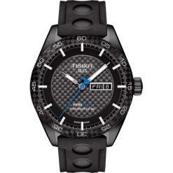 RABAT ZEGAREK TISSOT PRS 516 Automatic T100.430.37.201.00. Czarne zegarki męskie TISSOT, ze stali. W wyprzedaży za 3256,00 zł.