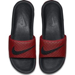 Chodaki męskie: Nike Klapki męskie Benassi Solarsoft czerwone r. 48.5 (705474-600)