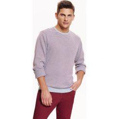 Swetry męskie: SWETER MĘSKI W DROBNE PASKI