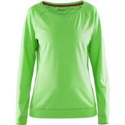 Bluzy rozpinane damskie: Craft Bluza damska Pure Light Sweatshirt zielona r. XL (1903321-2810)
