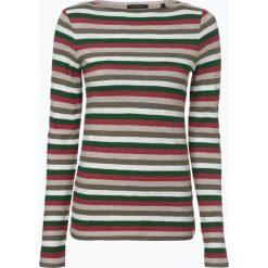 Marc O'Polo - Damska koszulka z długim rękawem, zielony. Zielone t-shirty damskie Marc O'Polo, s, z materiału, polo. Za 139,95 zł.