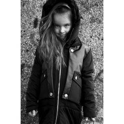 Odzież dziecięca: Kurtka zimowa czarna z króliczkiem