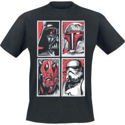 T-shirty męskie z nadrukiem: Star Wars Evil Gallery T-Shirt czarny