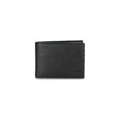 Portfele Armani jeans  GELOS. Czarne portfele męskie marki Armani Jeans, z jeansu. Za 319,20 zł.