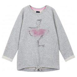 Bluzy dziewczęce rozpinane: Bluza typu tunika ze srebrną nitką dla dziewczynki 9-12 lat
