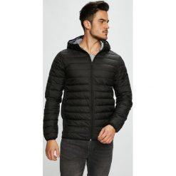 Jack & Jones - Kurtka. Czarne kurtki męskie pikowane marki Jack & Jones, l, z bawełny, z okrągłym kołnierzem. Za 219,90 zł.