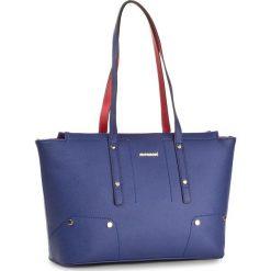 Torebka MONNARI - BAG0870-013 Navy With Red. Niebieskie torebki klasyczne damskie Monnari, ze skóry ekologicznej. W wyprzedaży za 139,00 zł.