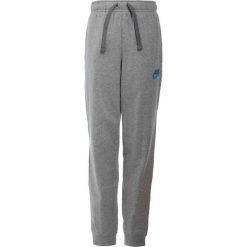 Nike Performance PANT JOGGER  Spodnie treningowe dark grey heather/equator blue. Szare spodnie chłopięce marki Nike Performance, z bawełny. Za 129,00 zł.