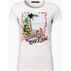 T-shirty damskie: Weekend MaxMara – T-shirt damski, czarny