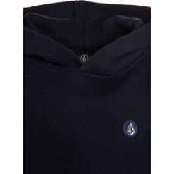 Volcom DIVISION Bluza z kapturem navy. Niebieskie bluzy chłopięce rozpinane marki Volcom, z bawełny, z kapturem. W wyprzedaży za 183,20 zł.