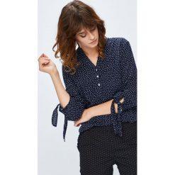 Medicine - Bluzka Basic. Czarne bluzki z odkrytymi ramionami marki bonprix, eleganckie, z krótkim rękawem. Za 59,90 zł.